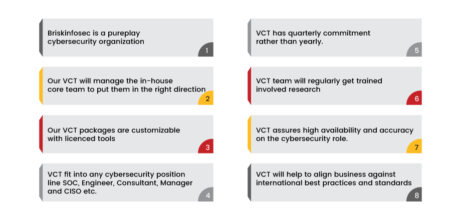 Virtual Cybersecurity Team (VCT)